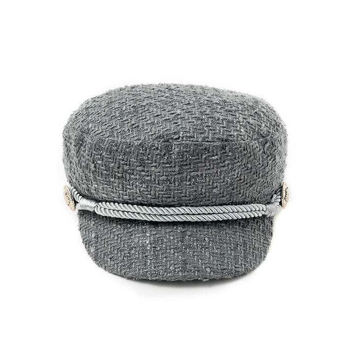 Women's Autumn/Winter Military Style Cap With Visor