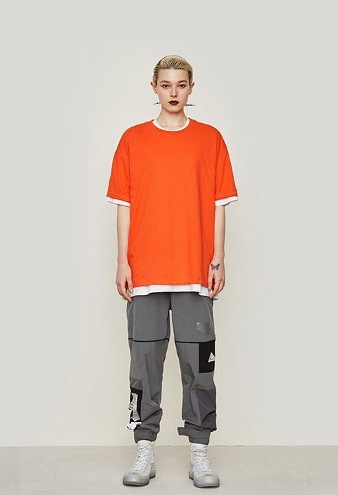 Men's Summer Basic Cotton Oversized T-Shirt