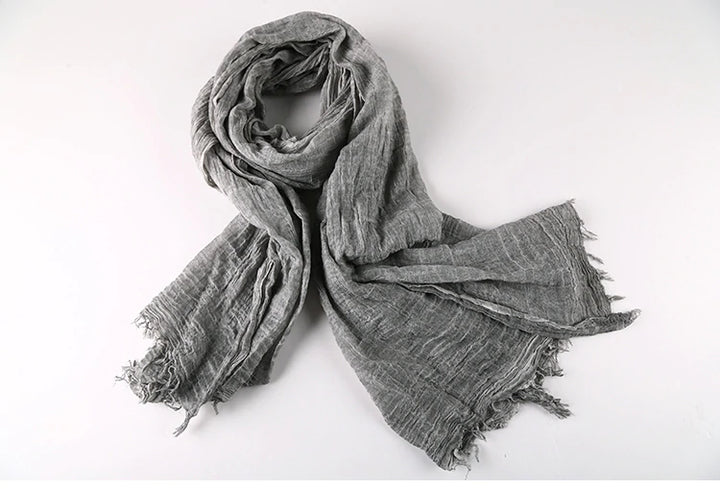 Men's Winter Retro Cozy Warm Long Scarf