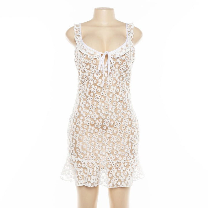 Women's Summer Casual Mesh Mini Dress