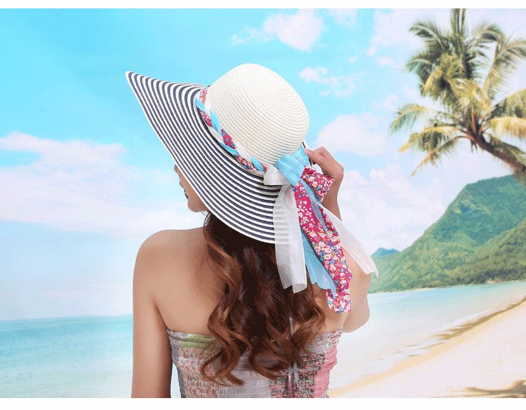 Hat – Female Summer Beach Straw Hat | Zorket
