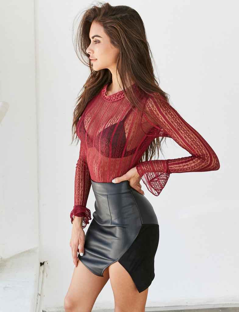 Blouse – Blouse With Flare Sleeve | Zorket