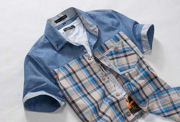 Men's Short Sleeved Summer Casual Shirt - Zorket