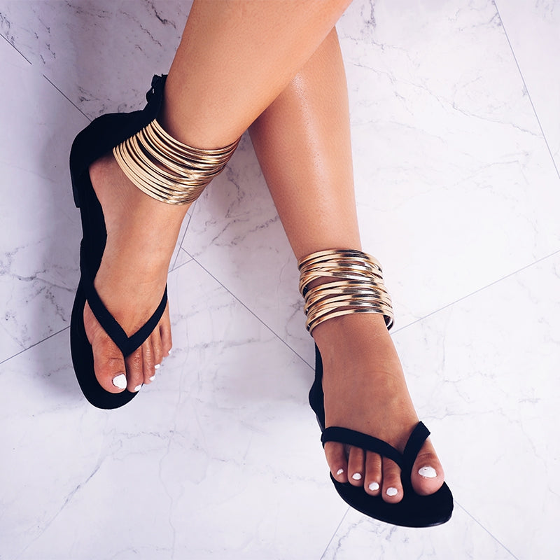 Women's Summer Flat Gladiator Sandals