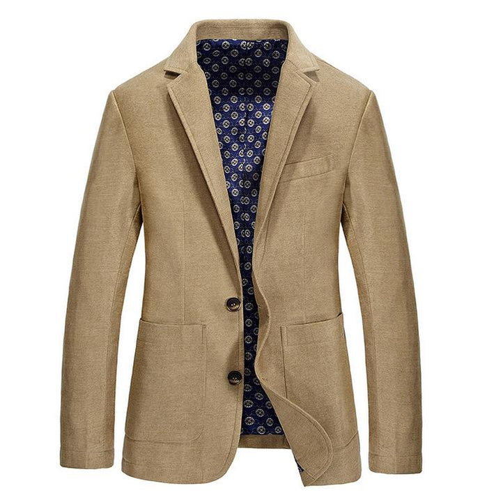 Men's Autumn Single-Breasted Suit Blazer