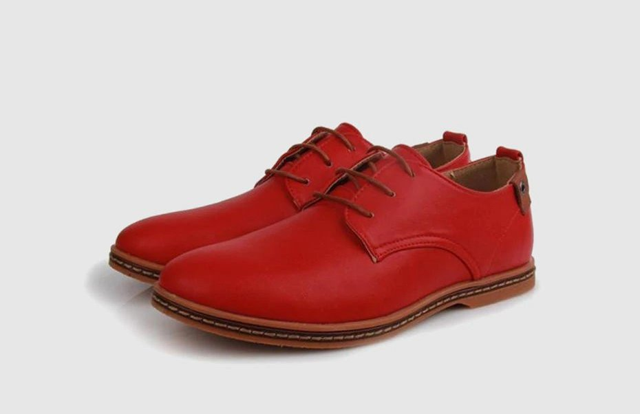 Men's Spring/Autumn Artificial Leather Breathable Oxford Shoes