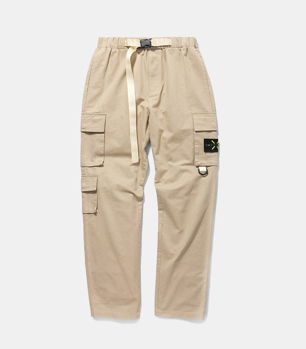 Men's Spring/Autumn Casual Cotton Cargo Pants
