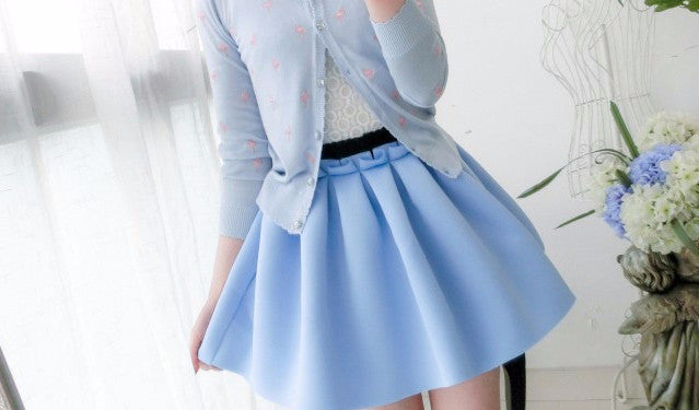 Women's Autumn High Waist Casual Skirt - Zorket
