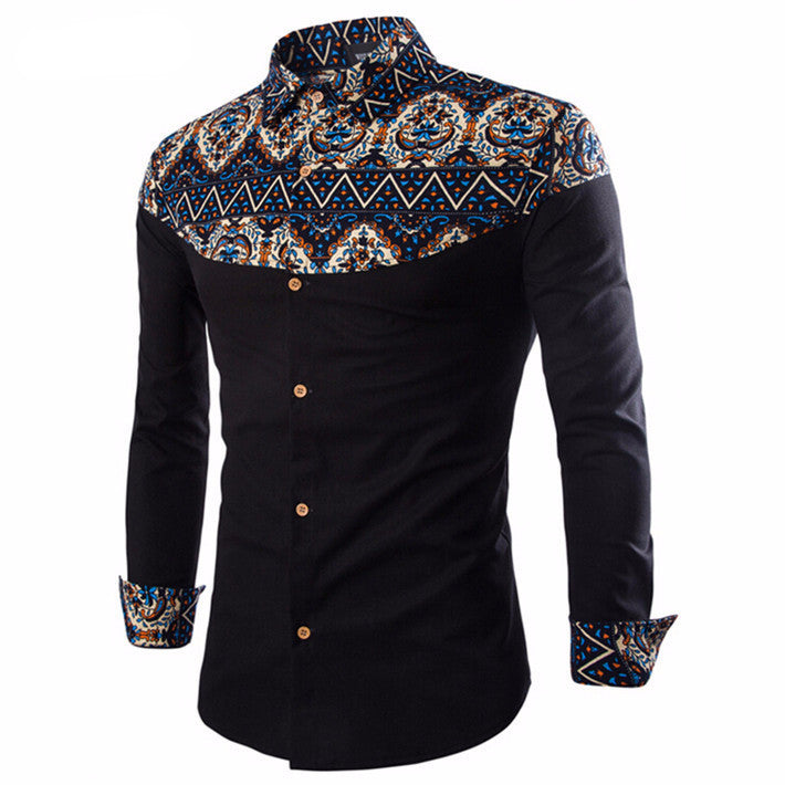 Shirt – Male Casual Shirt With Print | Zorket