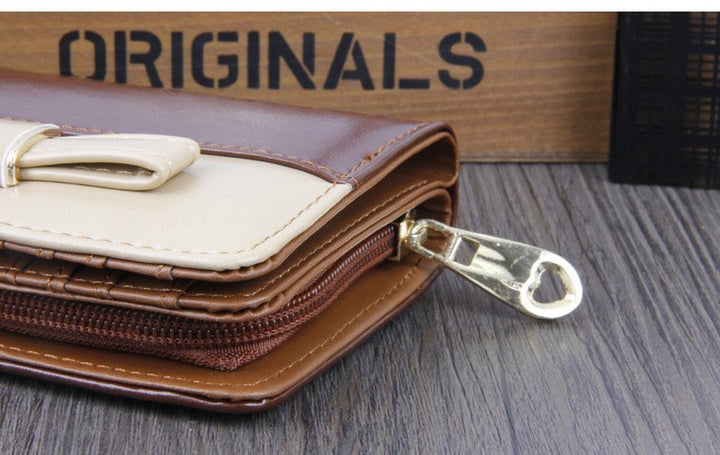Women's PU Leather Wallet Coin Purse Card Holder - Zorket