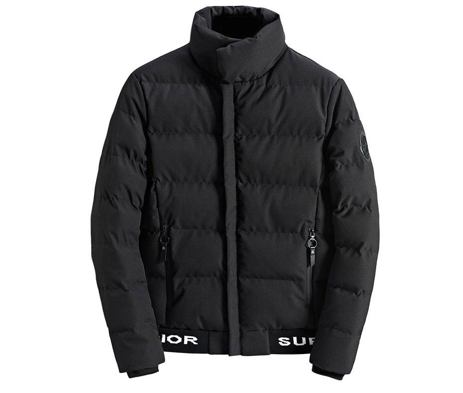 Men's Winter Thick Cotton-Padded Short Jacket