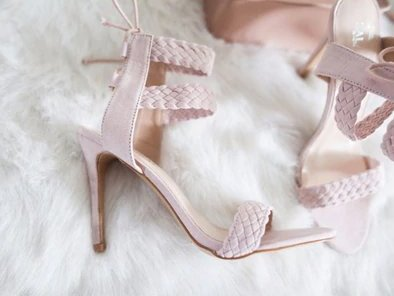 Women's Summer High-Heeled Ankle Strap Sandals