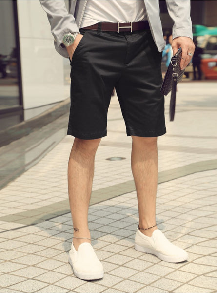 Shorts – Men's Casual Summer Cotton Suit Shorts | Zorket