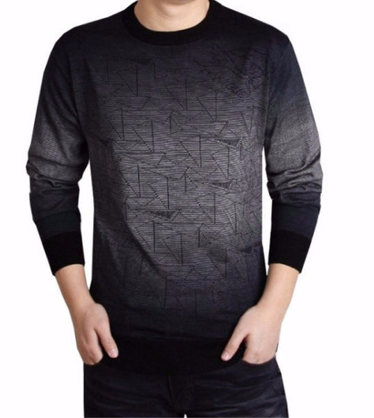Pullover – Mens Casual O-Neck Long Sleeve Sweater | Zorket