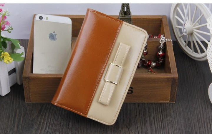 Women's PU Leather Wallet Coin Purse Card Holder