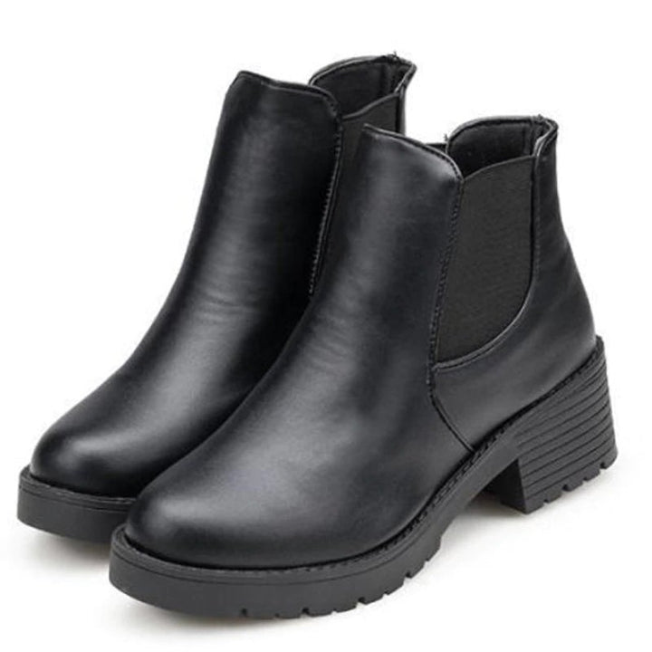 Women's Autumn Casual Chelsea Ankle Boots On Platform