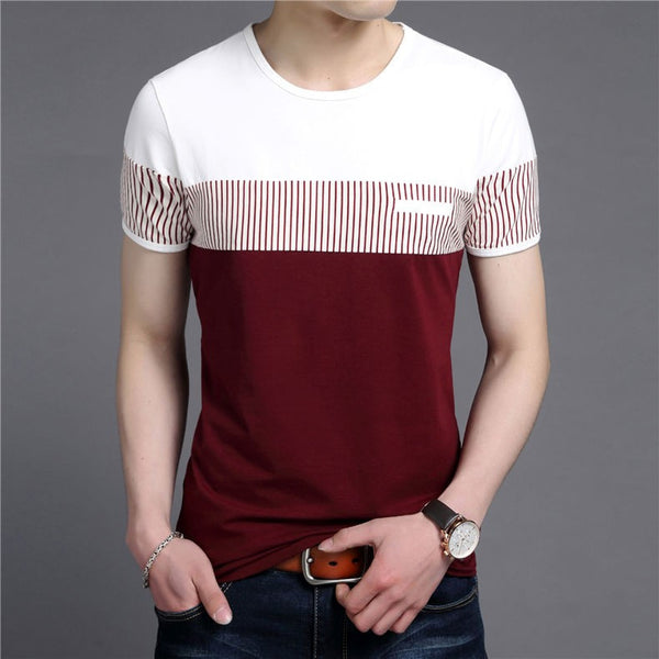 T-Shirt – Men's Cotton O-Neck T-Shirt Men, With Pocket | Zorket