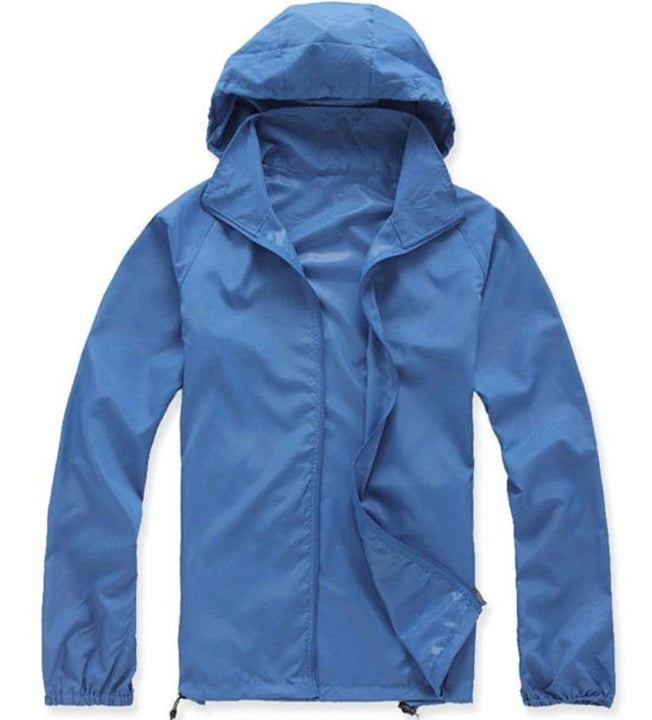 Men's Spring/Summer Quick Dry Waterproof Ultra-Light Windbreaker