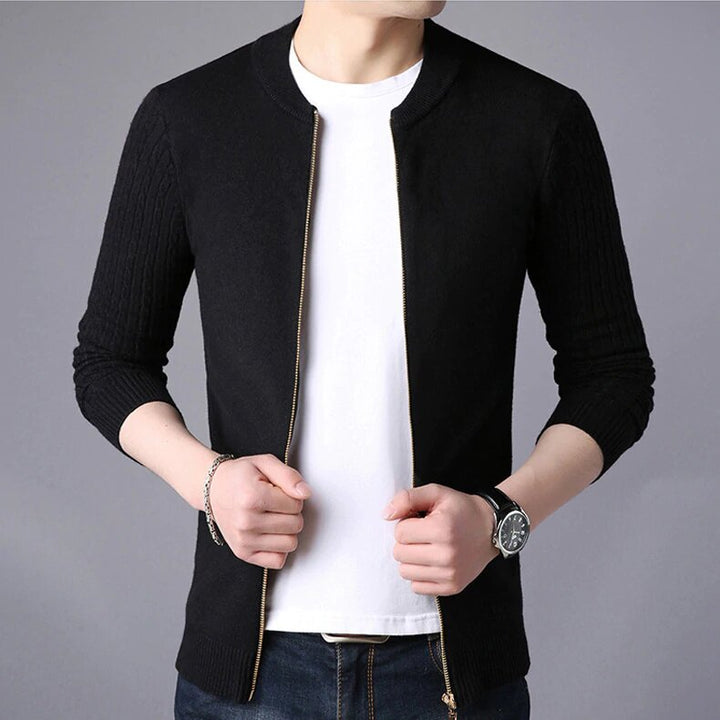 Men's Autumn/Winter Soft Cashmere Knitted Casual Cardigan