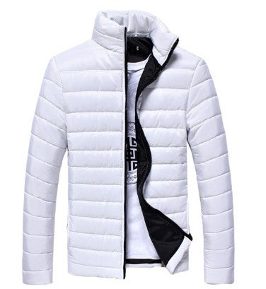 Men's Winter Warm Windproof Thermal Down Cotton Parka