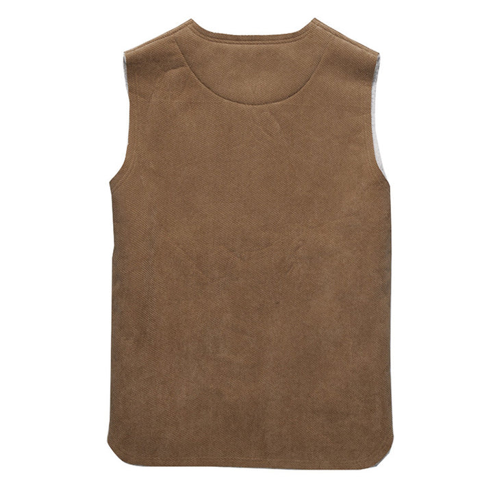 Men's Stylish Autumn Wool Vest - Zorket