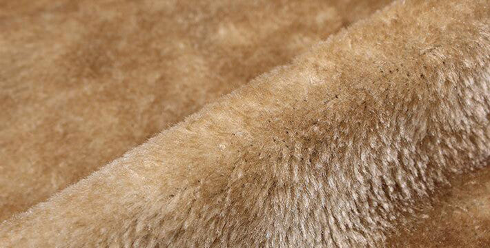 Autumn & Winter Trench Coat With Faux Fur Lining - Zorket
