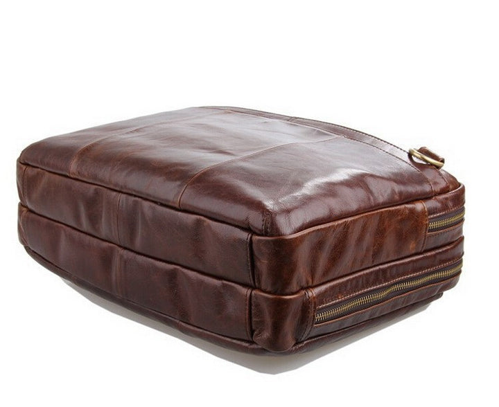 Briefcase – Casual Laptop Briefcase Genuine Leather For Men | Zorket