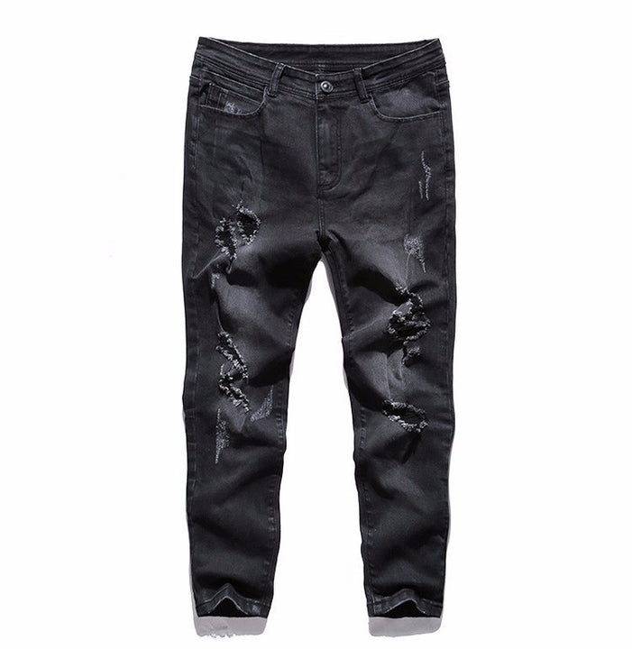 Jeans – Men's Casual Stretch Ripped Denim Jeans | Zorket