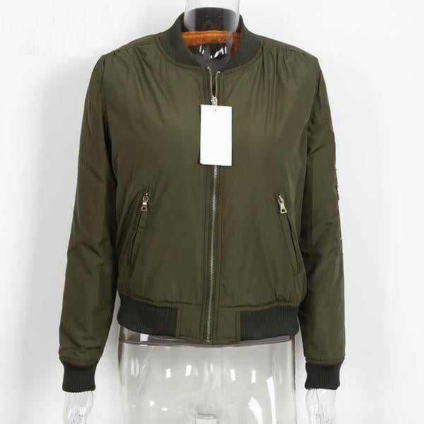 Women's Winter Cool Bomber Jacket - Zorket