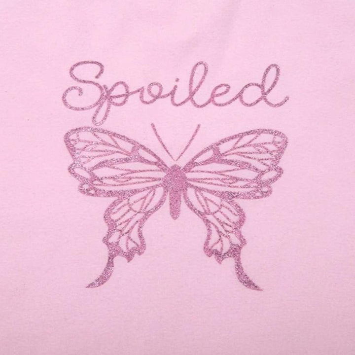 "Women's Summer Casual Cotton Slim Short Sleeve T-Shirt ""Spoiled"""