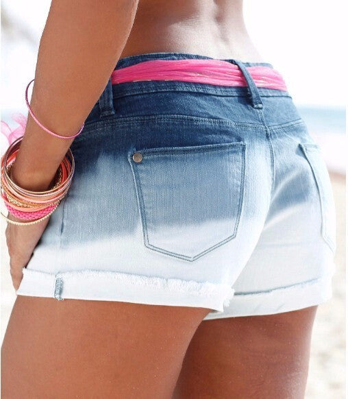 Summer Women's Casual On Zipper Denim Shorts - Zorket