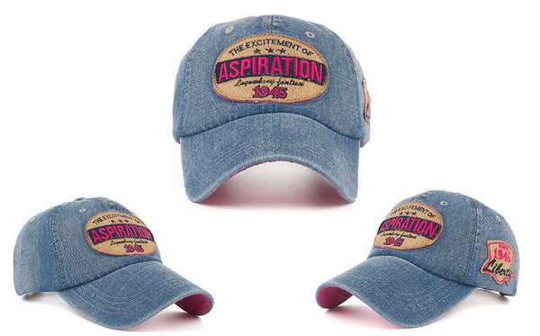 Baseball Cap – Adult's / Kid's High Quality Jeans Baseball Cap | Zorket