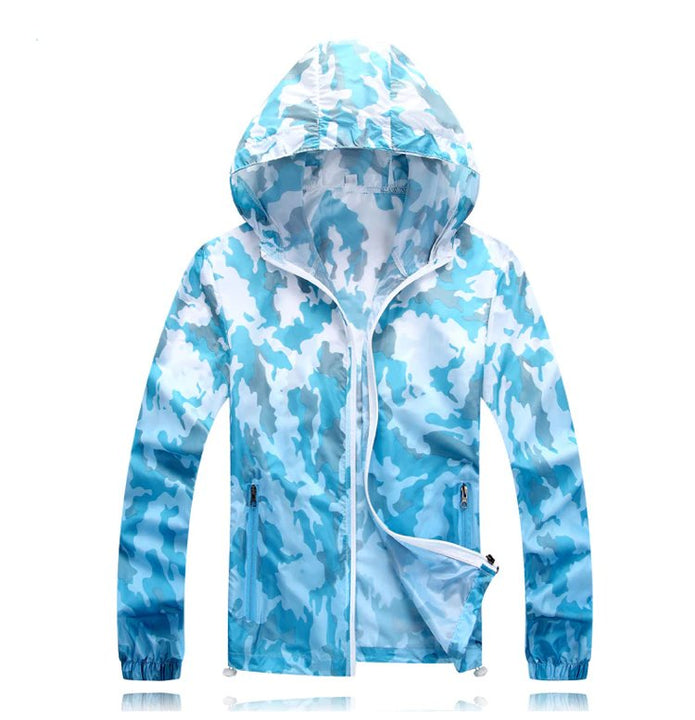 Men's Summer Quick Dry Sunscreen Breathable Windbreaker