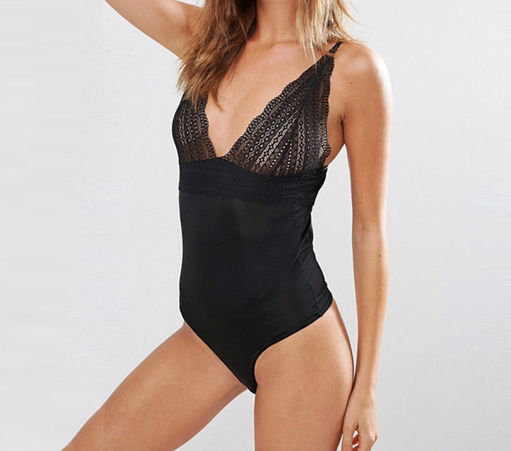 Women's Summer Lace Bodysuit