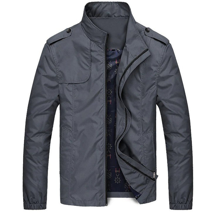 Men's Autumn Slim Fit Windproof Jacket | Men's Windbreaker