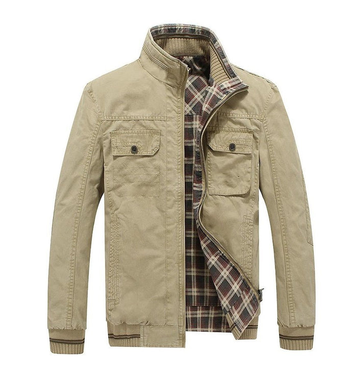 Men's Autumn Casual Cotton Double-Sided Jacket