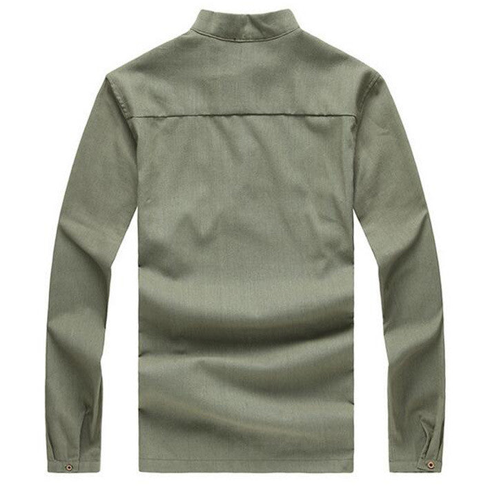 Men's Fashion Long Sleeve T-Shirt - Zorket