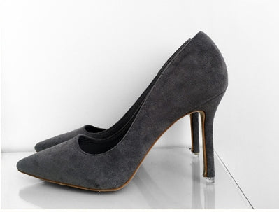 Women's Spring/Autumn Faux Suede High-Heeled Basic Pumps