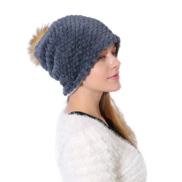Winter Hat – Casual Womens Beanie With Pineapple Texture | Zorket