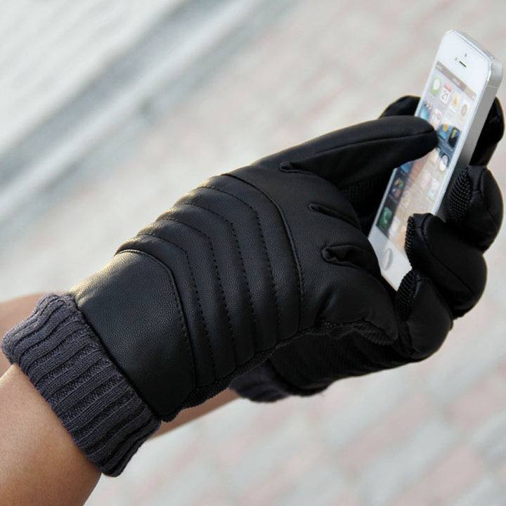 Men's Casual Waterproof Touch Screen Gloves - Zorket