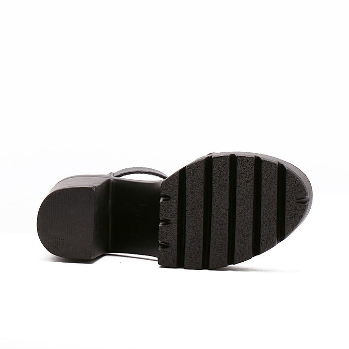 Platform Thick Heels Casual Sandals For Women - Zorket