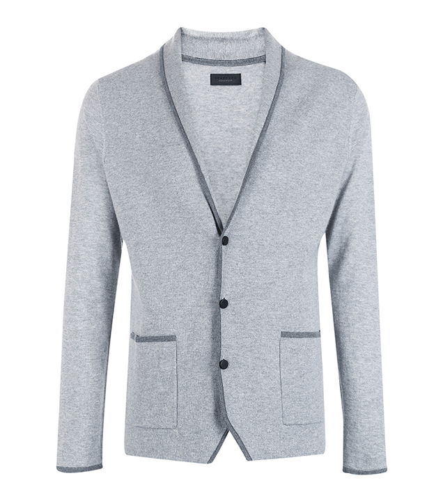 Men's Autumn/Winter Wool  Long-Sleeved Cardigan