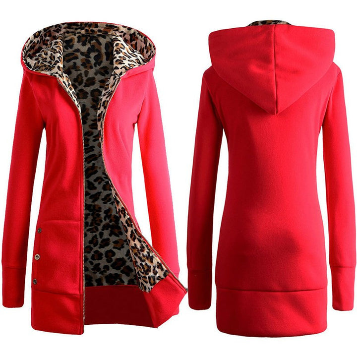 Women's Autumn & Winter Hooded Coat - Zorket