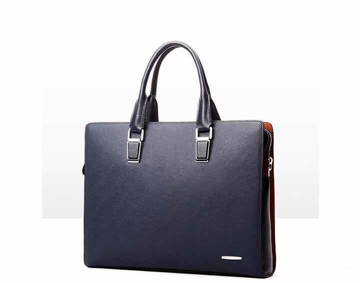Stylish Leather Laptop Briefcase For Men - Zorket