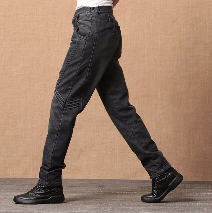 Jeans – Casual Winter Denim Harem Jeans For Women | Zorket