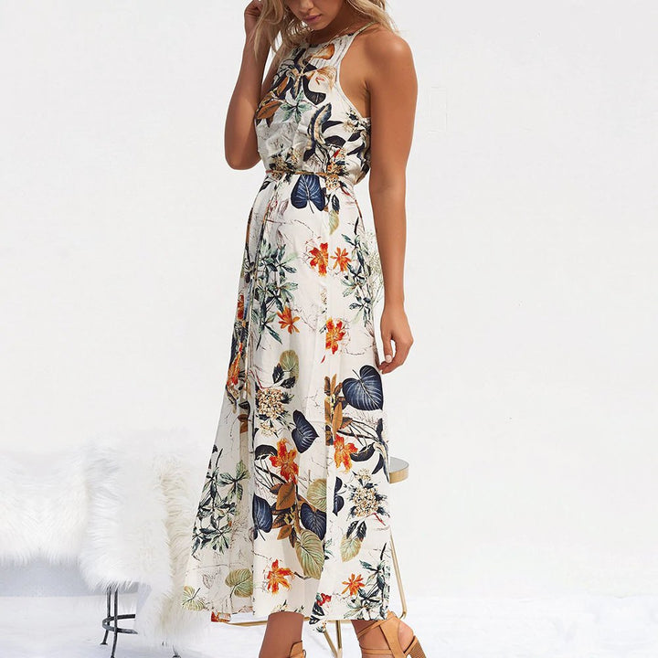 Women's Summer Beach Casual Maxi Long Dress