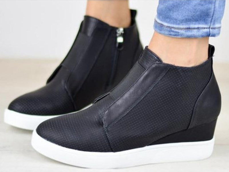 Women's Autumn/Winter Platform Ankle Boots