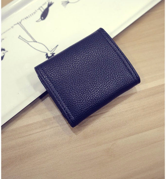 Women's PU Leather Short Wallet Card Holder Purse - Zorket