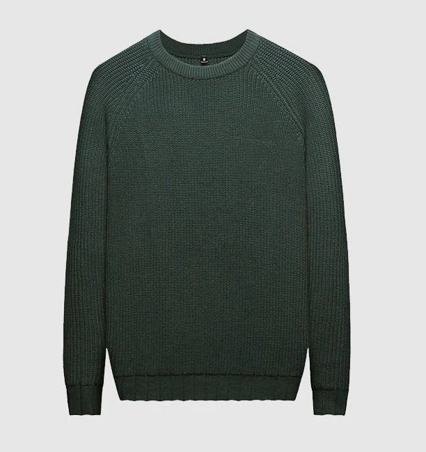 Men's Autumn Casual Slim Fit Thin Knitted Pullover