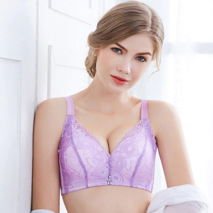 Women's Soft Lace Push Up Bra